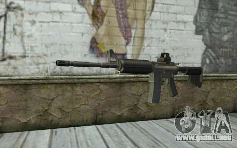 M4A1 Holosight para GTA San Andreas
