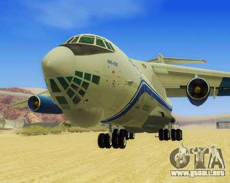 Il-76T AVAST para GTA San Andreas left