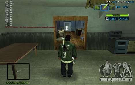 C-HUD by nayshnik para GTA San Andreas segunda pantalla