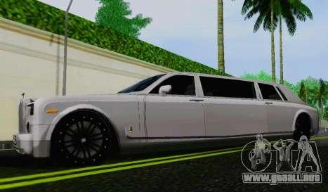 Rolls-Royce Phantom Limo para GTA San Andreas left