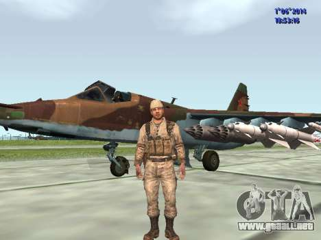 Afghanistan Soviet Soldiers para GTA San Andreas novena de pantalla