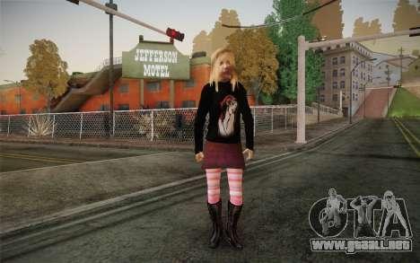 Avril Lavigne para GTA San Andreas