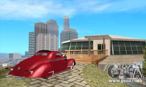 Lincoln Zephyr 1946 para GTA San Andreas left