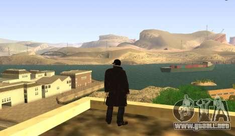New Aiden Pearce para GTA San Andreas segunda pantalla