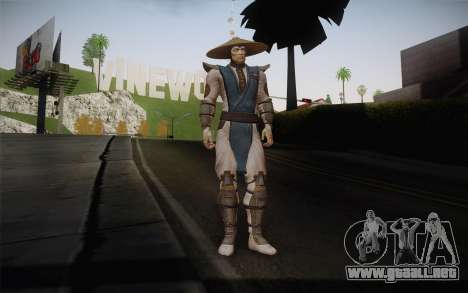 Raiden from Mortal Kombat 9 para GTA San Andreas