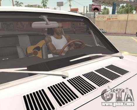 La animación pulsando la señal para GTA San Andreas quinta pantalla