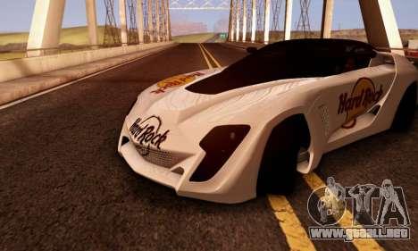 Bertone Mantide 2010 Hard Rock Cafe para GTA San Andreas