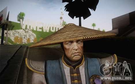 Raiden from Mortal Kombat 9 para GTA San Andreas tercera pantalla