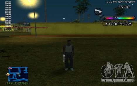 C-HUD by Miks para GTA San Andreas