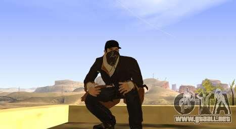 New Aiden Pearce para GTA San Andreas séptima pantalla