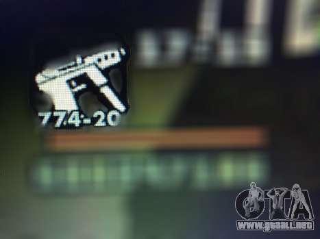Nuevas características de las armas para GTA San Andreas décimo de pantalla