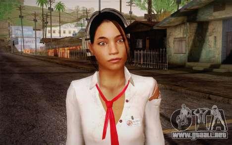 Xian Mei from Dead Island para GTA San Andreas tercera pantalla