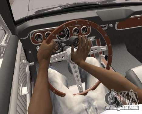 La animación pulsando la señal para GTA San Andreas sucesivamente de pantalla