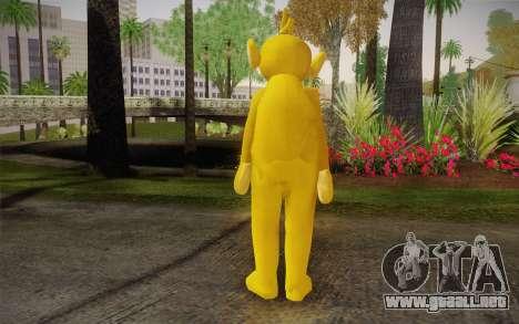 Lala (Teletubbies) para GTA San Andreas segunda pantalla