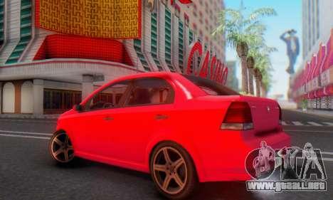 DeClasse Asea V1.0 para visión interna GTA San Andreas