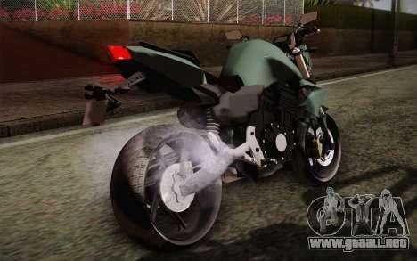 Yamaha FZ6 para visión interna GTA San Andreas