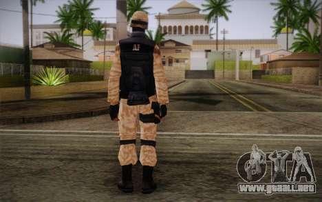 SWAT Desert Camo para GTA San Andreas segunda pantalla