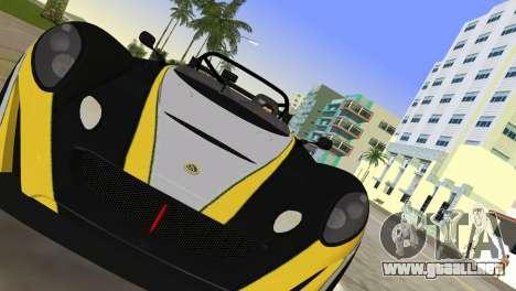 Lotus 2-Eleven para GTA Vice City visión correcta