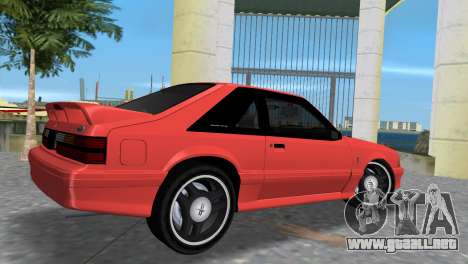 Ford Mustang Cobra 1993 para GTA Vice City vista lateral izquierdo