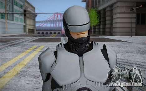 RoboCop 2014 para GTA San Andreas tercera pantalla