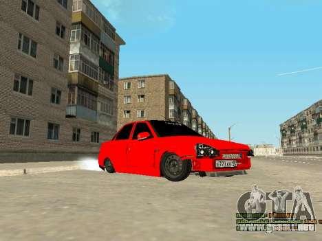 VAZ 2170 para GTA San Andreas left