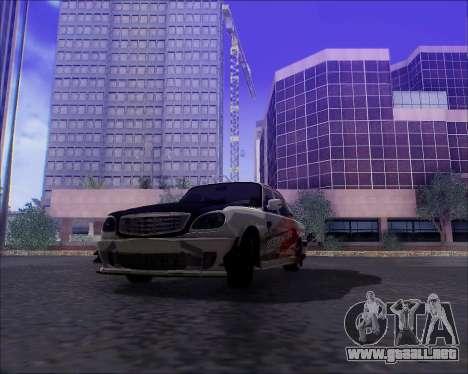 GAZ 31105 Sintonizable para el motor de GTA San Andreas