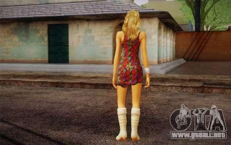 Hannah Montana para GTA San Andreas segunda pantalla