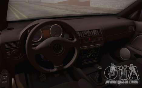 Volkswagen Bora para la vista superior GTA San Andreas