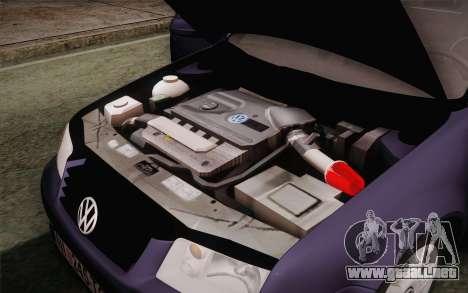 Volkswagen Bora para vista lateral GTA San Andreas