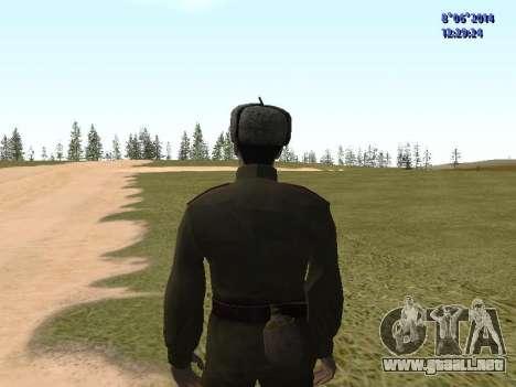 USSR Soldier Pack para GTA San Andreas sexta pantalla