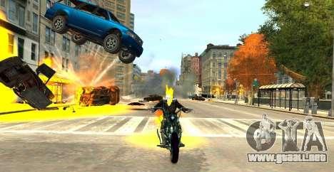 Ghost Rider para GTA 4 tercera pantalla
