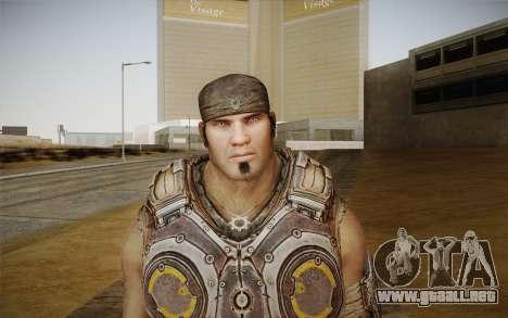 Marcus Fenix из Gears of War 3 para GTA San Andreas tercera pantalla