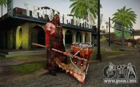 Verdugo (Resident Evil 5) para GTA San Andreas