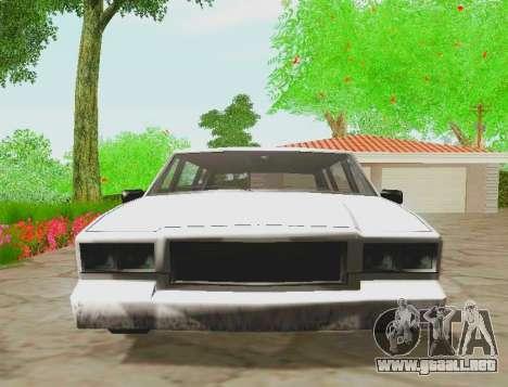 Tahoma Limousine para la visión correcta GTA San Andreas