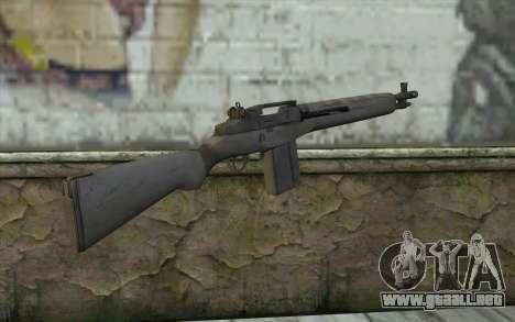 M14 из FarCry para GTA San Andreas segunda pantalla