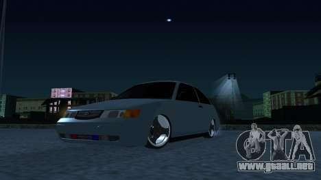 ESTOS 2112 EN para GTA San Andreas vista posterior izquierda