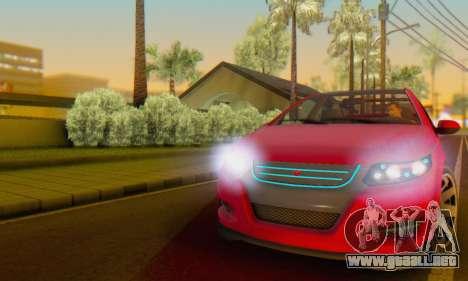 Cheval Surge V1.0 para vista lateral GTA San Andreas