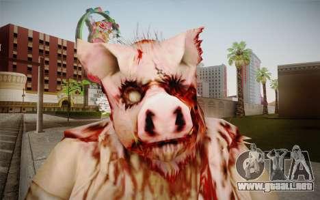 Piggsy Skin para GTA San Andreas tercera pantalla