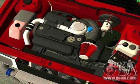 VAZ 2108 Turbo para GTA San Andreas interior