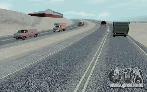 HD Roads 2014 para GTA San Andreas sexta pantalla