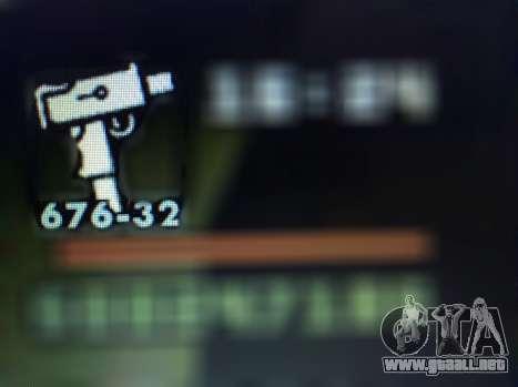 Nuevas características de las armas para GTA San Andreas novena de pantalla