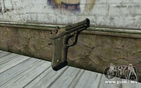 M9 Pistol para GTA San Andreas segunda pantalla