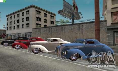 Lincoln Zephyr 1946 para GTA San Andreas