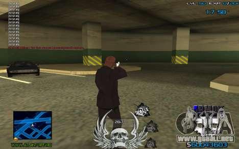 C-HUD by Extazy para GTA San Andreas tercera pantalla