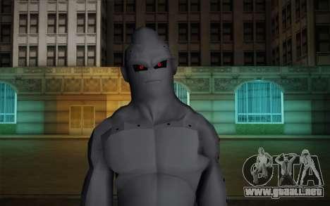 Dark Buu para GTA San Andreas tercera pantalla