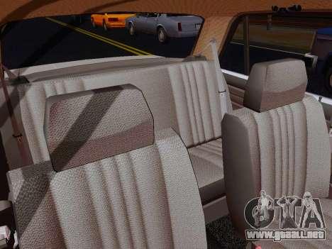 VAZ 2105 Riva para visión interna GTA San Andreas