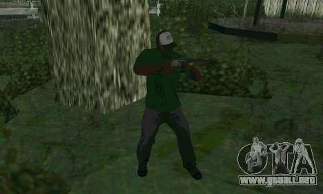 Nuevas características de las armas para GTA San Andreas segunda pantalla