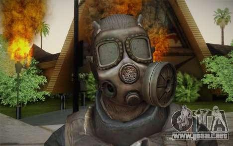 S.A.S Gas Mask para GTA San Andreas tercera pantalla