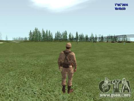 Afghanistan Soviet Soldiers para GTA San Andreas octavo de pantalla