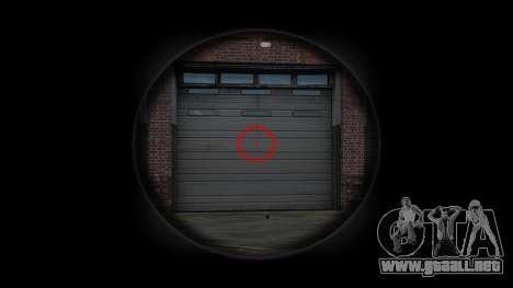 Автомат Steyr AUG-A3 Óptica de tigre Rojo para GTA 4 tercera pantalla